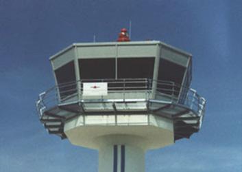 Flughafen-Towerkanzeln